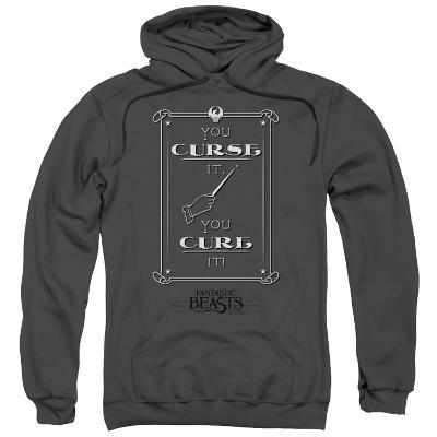 Hoodie: Fantastic Beasts- You Curse, You Cure