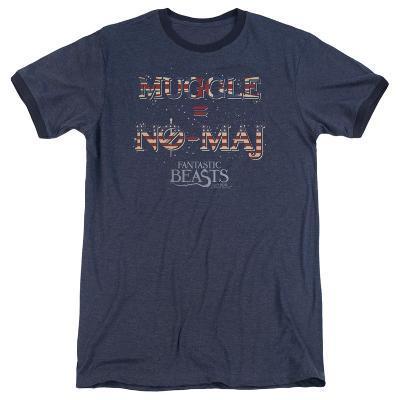 Fantastic Beasts- Muggle = No Maj Ringer