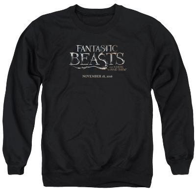 Crewneck Sweatshirt: Fantastic Beasts- Movie Logo