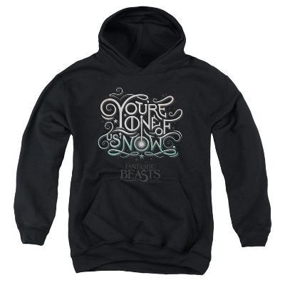 Youth Hoodie: Fantastic Beasts- One Of Us Logography