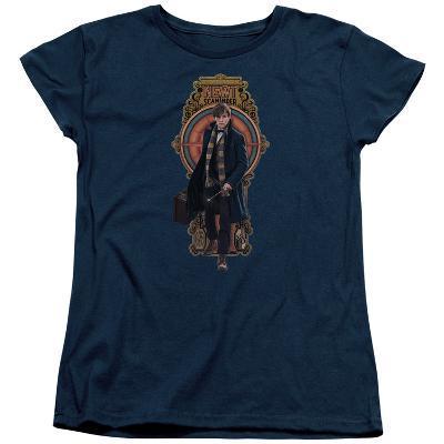 Womens: Fantastic Beasts- Newt Scamander Badge