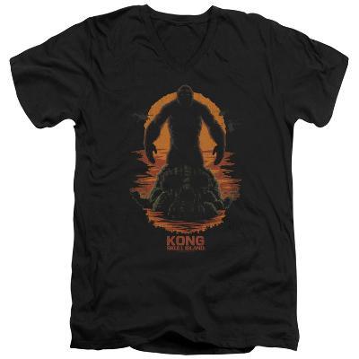 Kong: Skull Island- Kong: Silhouette V-Neck