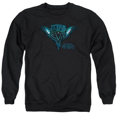 Crewneck Sweatshirt: Fantastic Beasts- Swooping Evil Logography