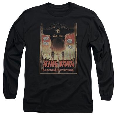 Long Sleeve: King Kong- Eighth Wonder Of The World