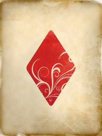 Playing Card Diamonds