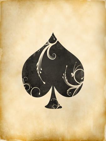 Playing Card Spades