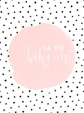 Boheme-Typography Dots Illustration Shabby 2