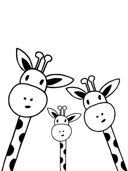 Giraffe Prints by Nanamia Design at AllPosters.com