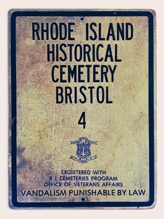 Rhode Island Historical Cemetary Bristol