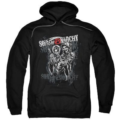 Hoodie: Sons Of Anarchy - Reaper Logo