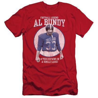 Married With Children- Al Bundy Football Legend Slim Fit