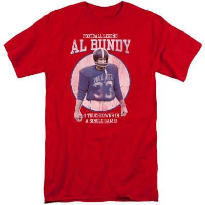 Married With Children- Al Bundy Football Legend (Big & Tall)
