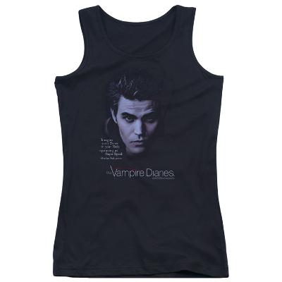 Juniors Tank Top: Vampire Diaries- Stefan Every Sense At Super Speed