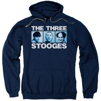 Hoodie: Three Stooges- Three Squares