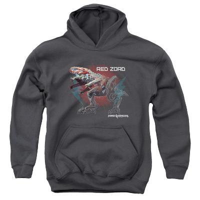 Youth Hoodie: Power Rangers- Red Zord Schematic