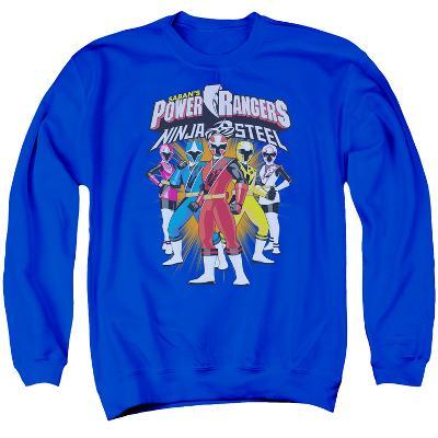 Crewneck Sweatshirt: Power Rangers: Ninja Steel- Team Lineup