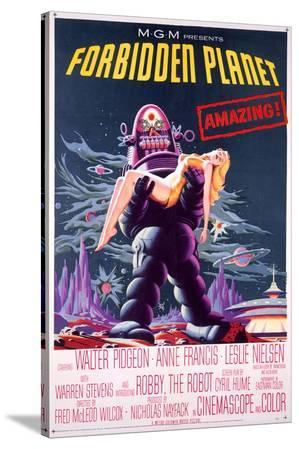 Forbidden Planet Robby the Robot Poster
