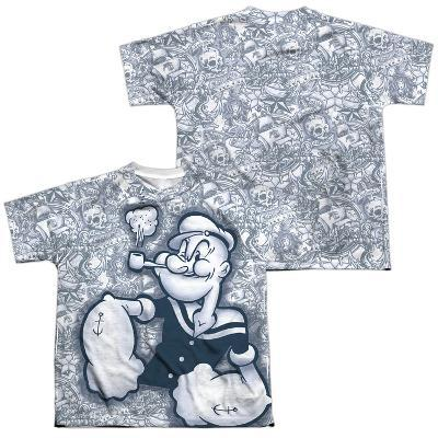 Youth: Popeye- Tattooed Sailor (Front/Back)