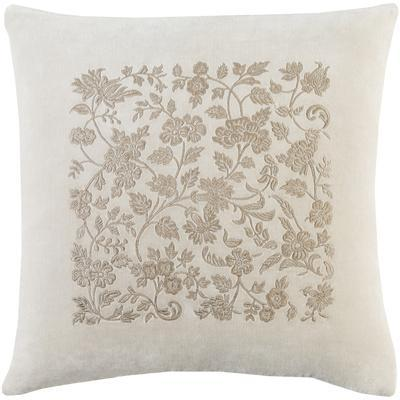 Smithsonian Pillow Cover - Cream