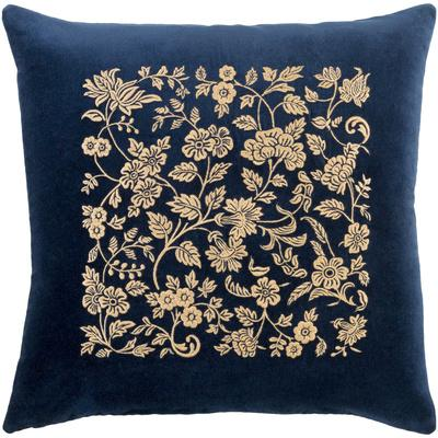 Smithsonian Poly Fill Throw Pillow - Navy