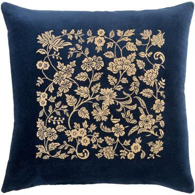Smithsonian Pillow Cover - Navy