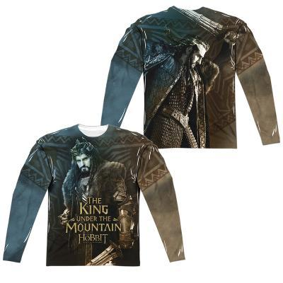 Long Sleeve: The Hobbit: The Battle Of The Five Armies- King (Front/Back)