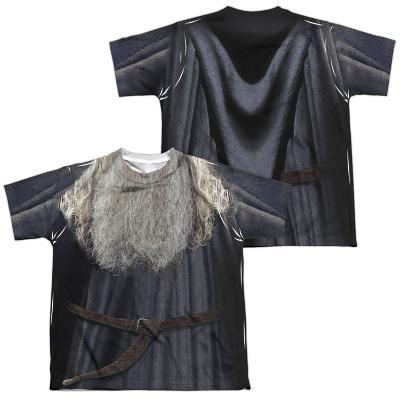 Youth: Lord Of The Rings- Galdalf The Grey Costume Tee (Front/Back)