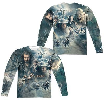Long Sleeve: The Hobbit: The Battle Of The Five Armies- Epic Poster (Front/Back)