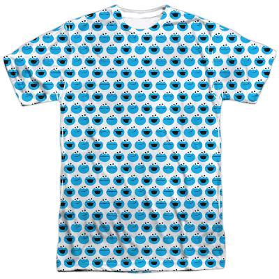 Sesame Street- Happy Cookie Pattern