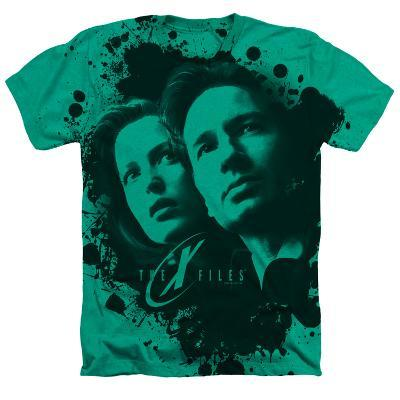X Files- Mulder And Scully Ink Blot (Premium)