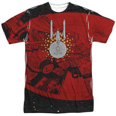 Star Trek- 171 Saucer Schematic