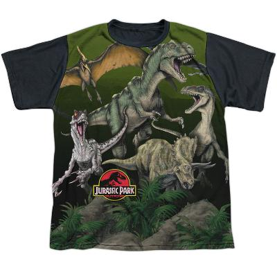 Youth: Jurassic Park- Pack Of Dinos Black Back