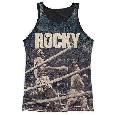 Tank Top: Rocky- Apollo Battle Black Back