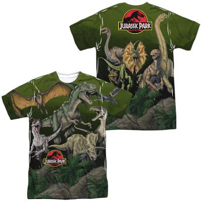 Jurassic Park- Pack Of Dinos (Front/Back)