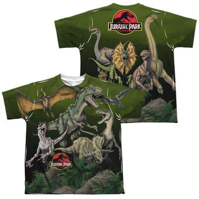 Youth: Jurassic Park- Pack Of Dinos (Front/Back)