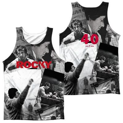Tank Top: Rocky- 40TH Anniversay Collage (Front/Back)