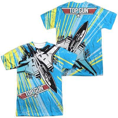 Top Gun- Rad Jet (Front/Back)