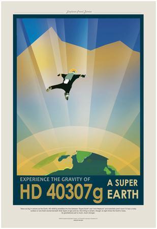 NASA/JPL: Visions Of The Future - Hd 40307G
