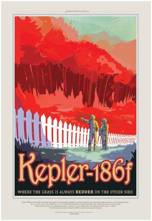 NASA/JPL: Visions Of The Future - Kepler-186F