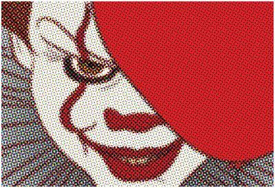Pop Art Clown