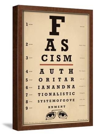 Facism Eye Chart