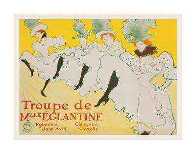 La Troupe de Mademoiselle Églantine, 1896