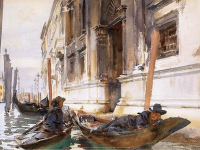Gondoliers' Siesta, 1904
