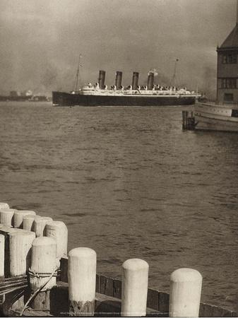 The Mauretania, 1910
