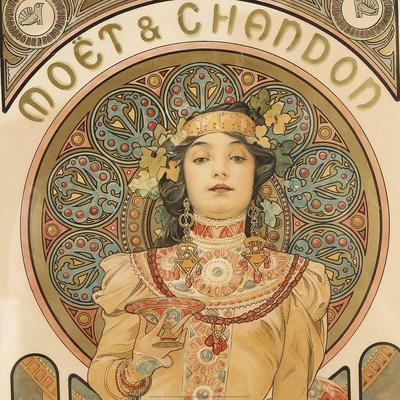 Detail from Moet & Chandon, 1897