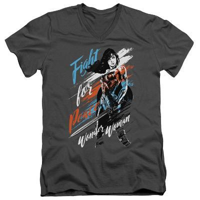Wonder Woman Movie - Fight For Peace V-Neck