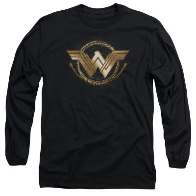 Long Sleeve: Wonder Woman Movie - Lasso Logo