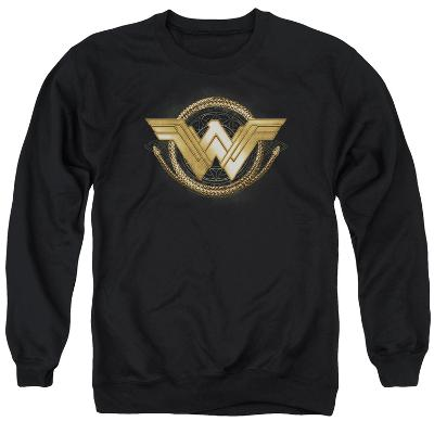 Crewneck Sweatshirt: Wonder Woman Movie - Lasso Logo