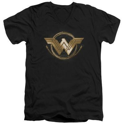 Wonder Woman Movie - Lasso Logo V-Neck