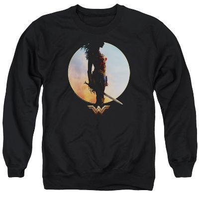 Crewneck Sweatshirt: Wonder Woman Movie - Wisdom and Wonder